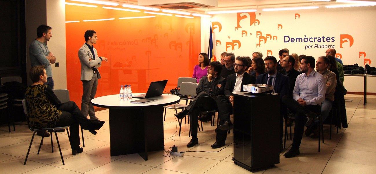 comissió institucional demòcrates per Andorra